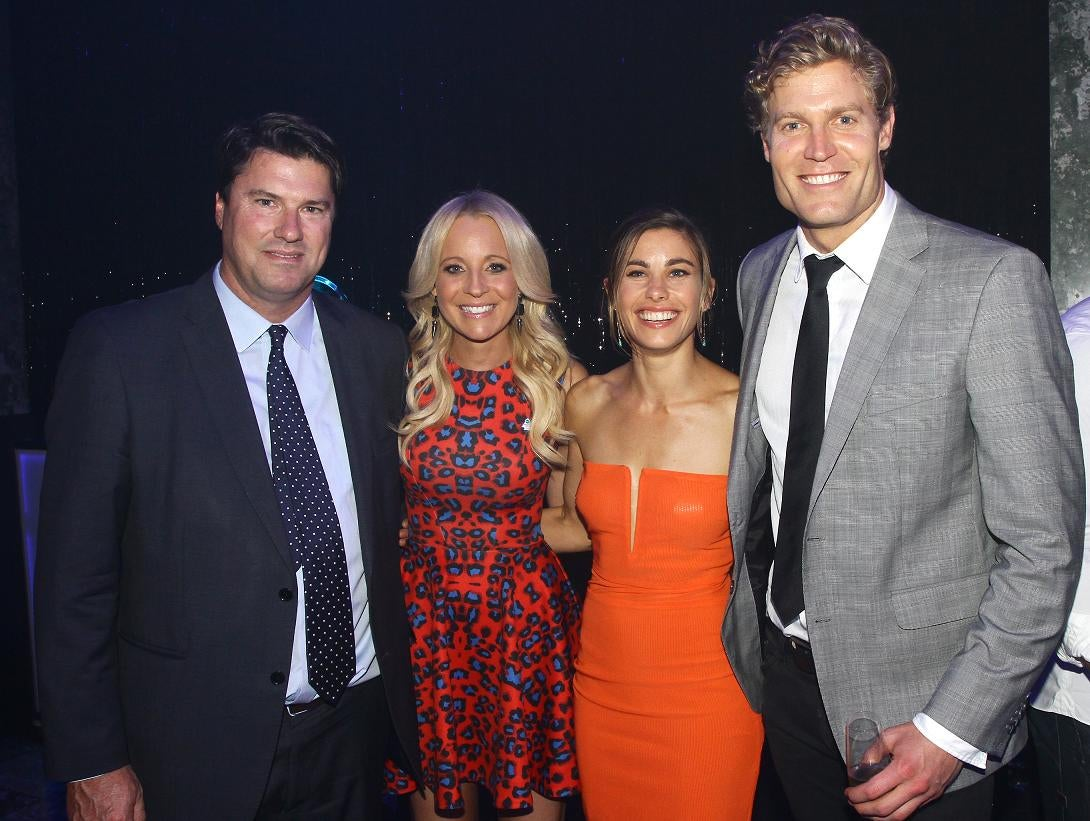 L R Network Ten Ceo Hamish Mclennan So You Think You Can Dance Host Carrie Bickmore