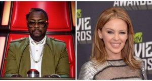 Will.i.am and Kylie Minogue join The Voice Australia in 2014