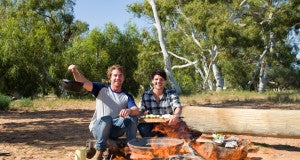 Surfing The Menu-Hayden-_-Dan-cook-by-the-fire---hold-pot