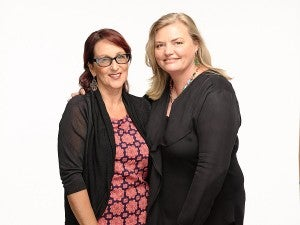 Newton's Law creators Deb Cox and Fiona Eagger